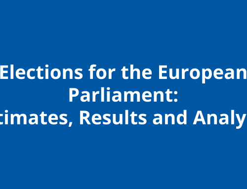 Elections for the European Parliament: Estimates, Results and Analysis