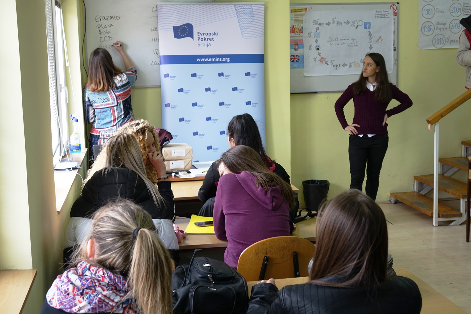 European Classes, March 2019, Zajecar