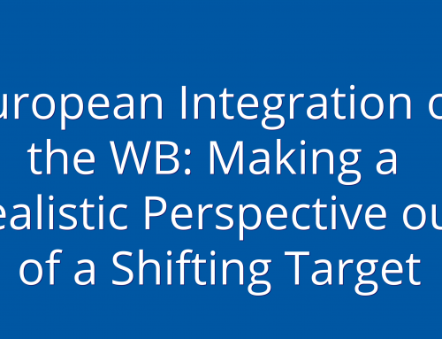 European Integration of the WB: Making a Realistic Perspective out of a Shifting Target