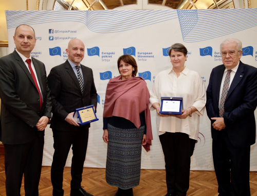 Contribution of the Year to Europe for 2019 Awarded to Rector Popović and Judge Majić