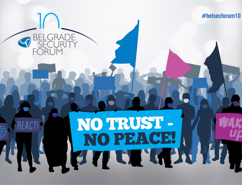 "10th Belgrade Security Forum Throughout October – ""No Trust – No Peace"""