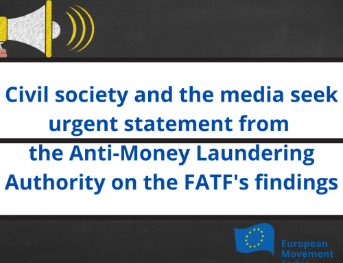 Civil society and the media seek urgent statement from the Anti-Money Laundering Authority on the FATF's findings
