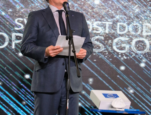 "The speech of Tobias Flessenkemper at the ""Contribution of the Year to Europe"" ceremony"