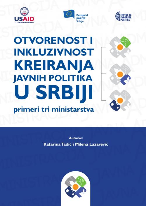 2018_Otvorenost i inkluzivnost kreiranja javnih politika u Srbiji COVER