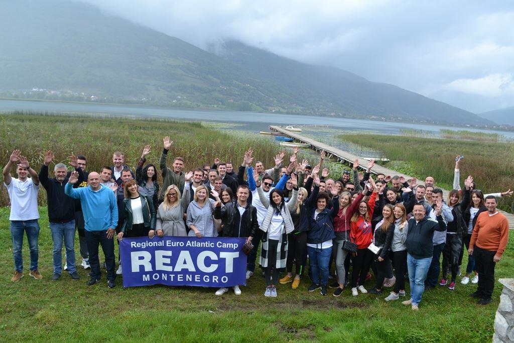 React kamp Gusinje, septembar 2018