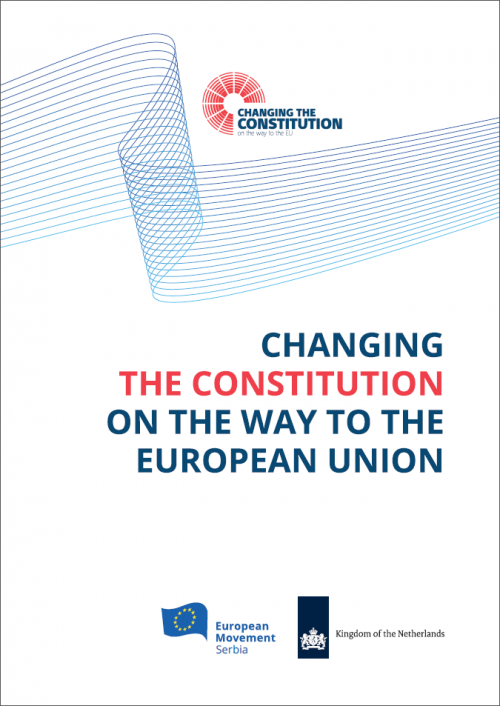 Changing the Constitution on the Way to the European Union naslovna