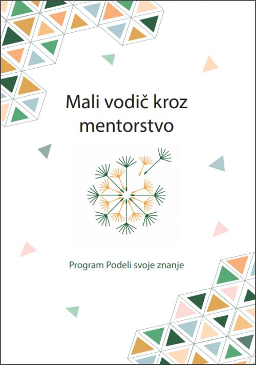 Mali vodic kroz mentorstvo 2020, naslovna