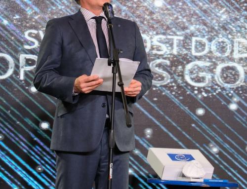 Govor Tobias Flesenkempera na svečanosti Doprinos godine Evropi