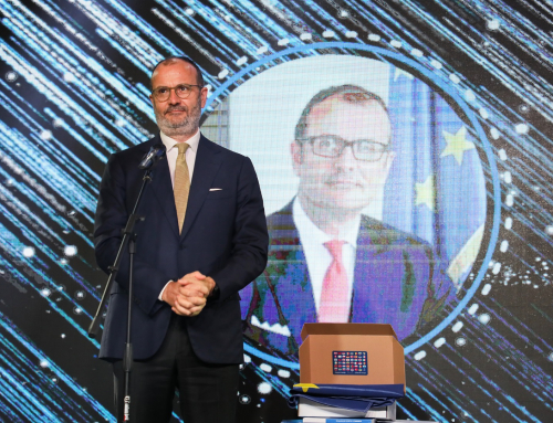 Govor Nj.E. Sem Fabricija na svečanosti Doprinos godine Evropi